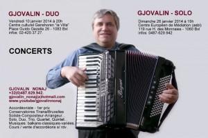 Gjovalin Nonaj Concerts 10 & 26-01-2014 (2)